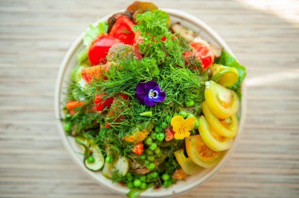 Salade bij STROOM